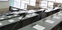 Оборудование для учебной аудитории, микрофоны мини-пушки